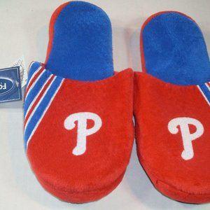 Philadelphia Phillie Stripe Logo Slide Slipper S